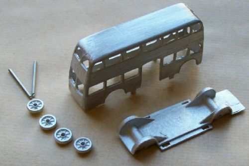 A DINKY TOYS COPY MODEL 29 MOTOR BUS [ IN KIT FORM ]